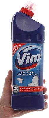 Cách tẩy vảy cá kính bằng Vim
