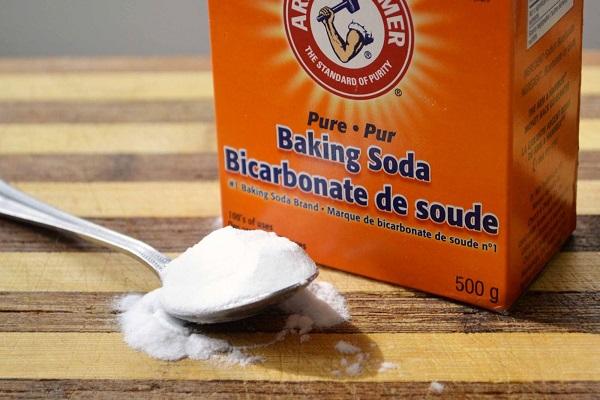 Cách vệ sinh mốc rèm cửa bàng baking soda