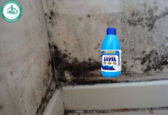 Cách vệ sinh tường mốc Javen