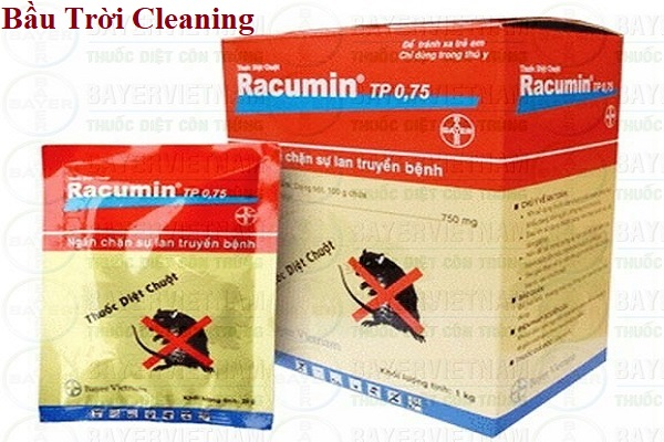 .Thuốc diệt chuột Racumin TP 0.75