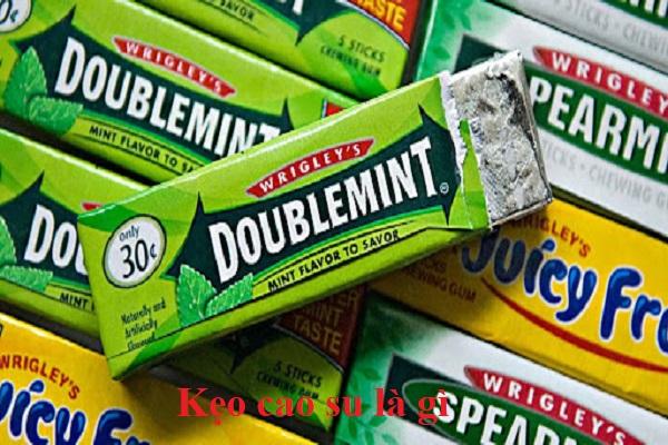 Kẹo cao su là gì