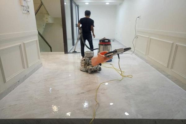 Đánh bóng sàn đá Marble Phú Quốc