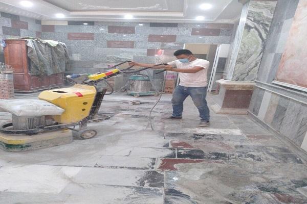 Đánh bóng sàn đá Marble Thuận An