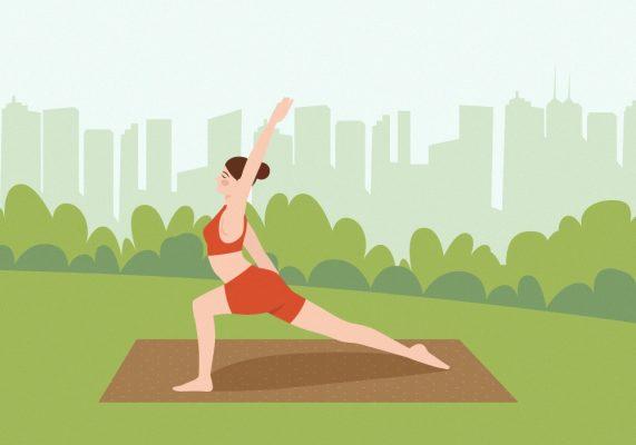 Tập luyện đều đặn chăm sóc sức khỏe