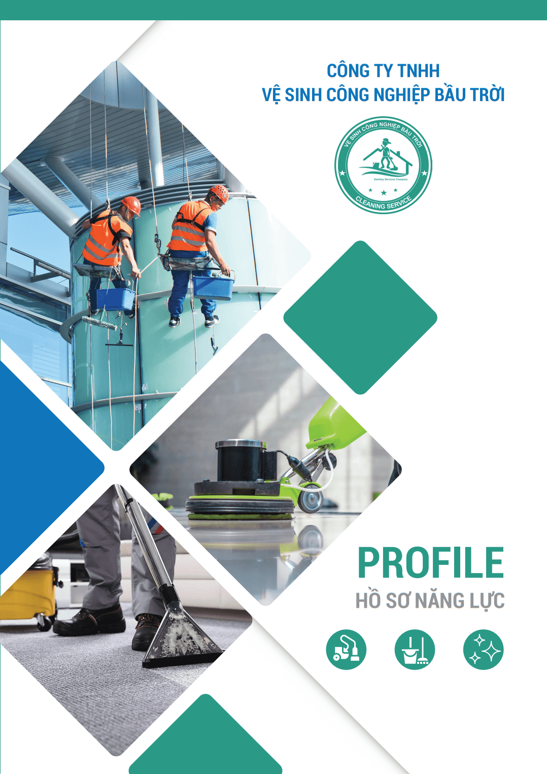 Vệ sinh công nghiệp - SKY CLEANING SERVICES - PROFILE 1