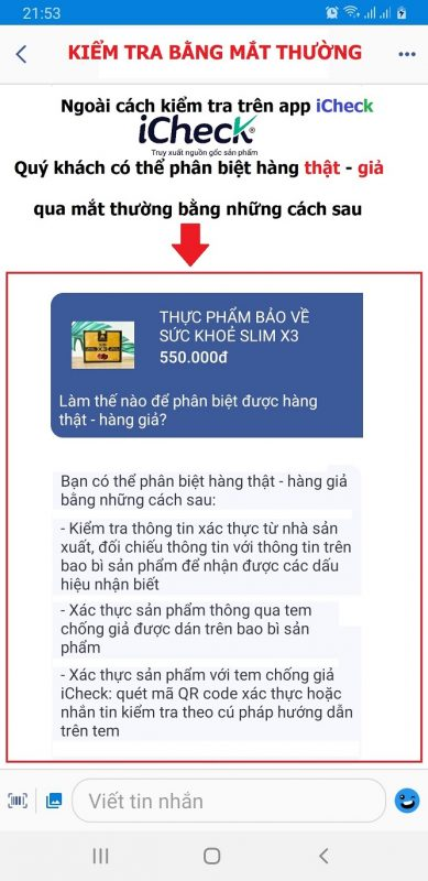 Phát hiện hàng giả hàng nhái qua ứng dụng iCheck cho người Việt 7