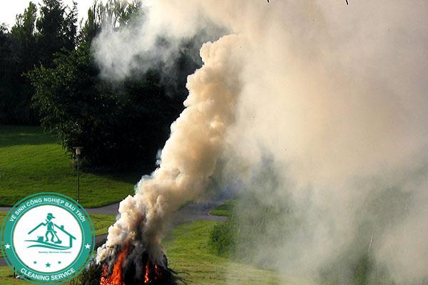 Cách đuổi ong tại nhà bằng khói